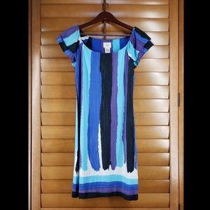 Eci Short Sleeve Mini Dress